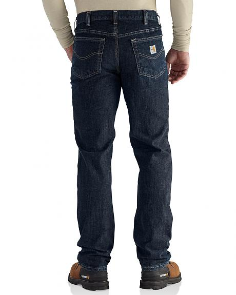 Carhartt Men's Flame Resistant RuggedFlex Traditional Fit Jeans - Big & Tall