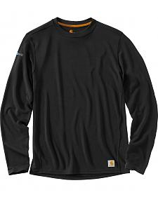 Carhartt Men's Base Force Cool Weather Crewneck Top - Big & Tall