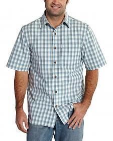 Carhartt Men's Essential Plaid Short Sleeve Shirt - Big & Tall