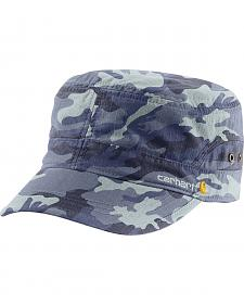 Carhartt Women's Deep Blue Camo El Paso Military Cap