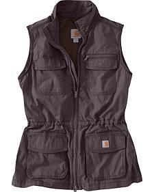 Carhartt Women's Grey El Paso Utility Vest