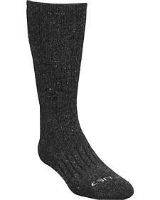 Carhartt Charcoal Full-Cushion Recycled Wool Crew Socks