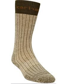 Carhartt Moss Steel Toe Arctic Wool Boot Socks