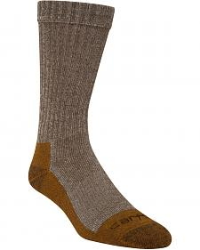 Carhartt Brown Copper Technology Work Crew Socks