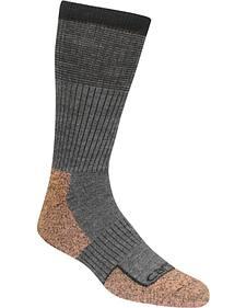 Carhartt Force Steel Toe Grey Copper Crew Socks