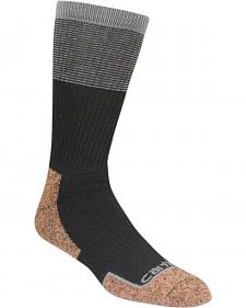 Carhartt Force Steel Toe Black Copper Crew Socks