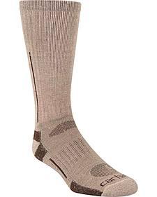 Carhartt Tan Full Cushion All Terrain Boot Socks