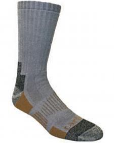 Carhartt Grey All-Terrain Boot Socks - 2 Pack