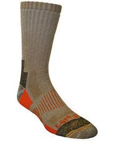 Carhartt Brown All-Terrain Boot Socks - 2 Pack