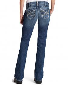 Ariat Women's Entwined R.E.A.L. Mid-Rise Riding Jeans