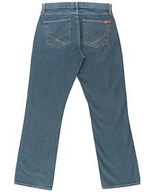 Wrangler Men's Blue 20X FR Cool Vantage Vintage Jeans - Slim fit