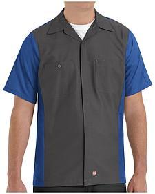 Red Kap Men's Crew Short Sleeve Shirt