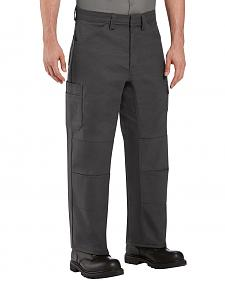 Red Kap Men's Charcoal Grey Performance Shop Pants