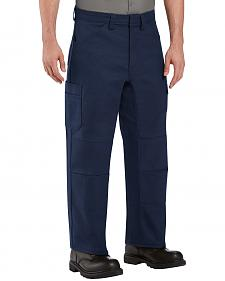 Red Kap Men's Navy Performance Shop Pants