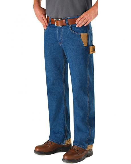 Red Kap Men's Workwear Relaxed Fit Carpenter Jeans