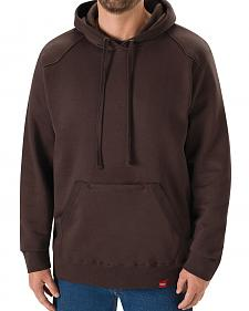 Red Kap Men's Brown Workwear Pull-Over Heavyweight Hoodie