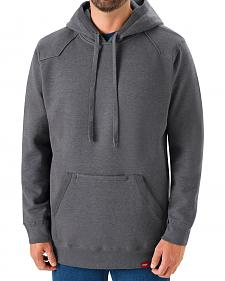 Red Kap Men's Grey Workwear Pull-Over Heavyweight Hoodie