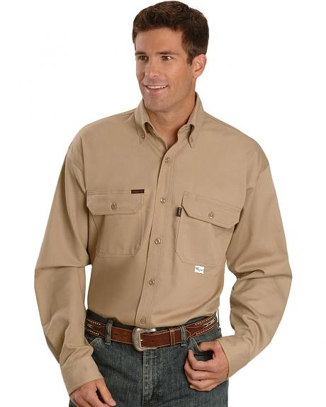 Key Industries Flame Resistant Twill Work Shirt