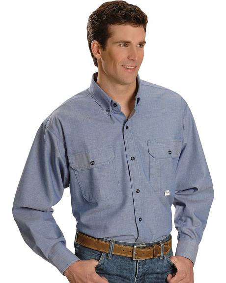 Key Industries Flame Resistant Chambray Shirt