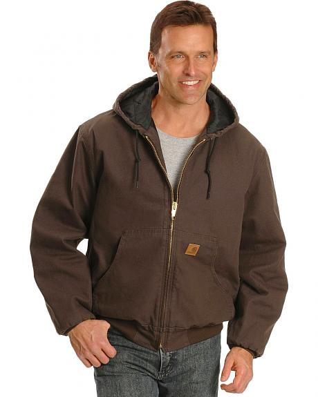 Carhartt Hooded Duck Active Work Jacket