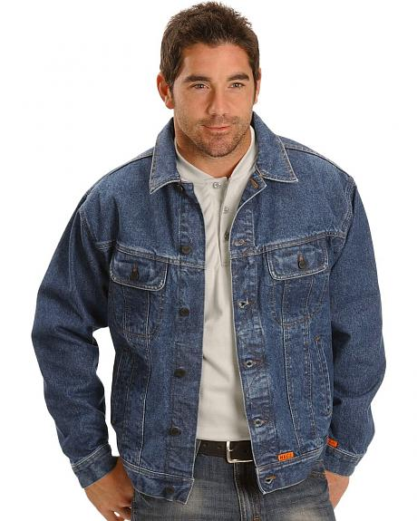 Wrangler Flame Resistant Denim Jacket