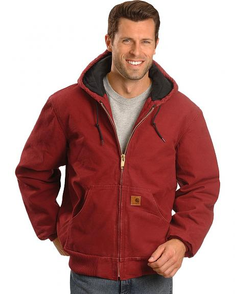 Carhartt Dark Red Active Work Jacket
