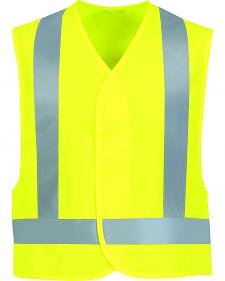 Red Kap Men's Class 2 Hi-Viz Safety Vest