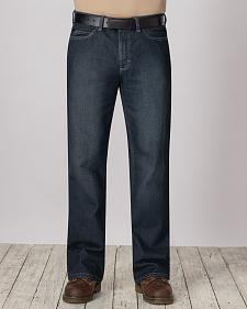 Bulwark Men's Flame-Resistant Straight Fit Sanded Denim Jeans - Big & Tall