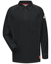 Bulwark Men's Black iQ Series FR Polo - Big & Tall at Sheplers