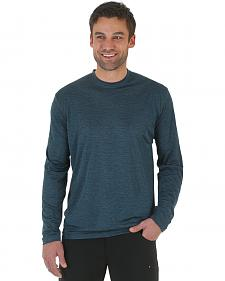 Wrangler Rugged Wear All-Terrain Long Sleeve Performance Tee