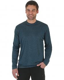 Wrangler Rugged Wear All-Terrain Long Sleeve Performance Tee - Big & Tall