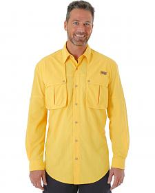Wrangler Men's Long Sleeve Linecaster Shirt - Big and Tall