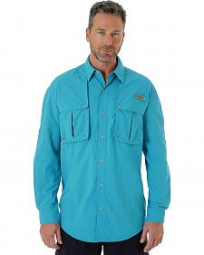 Wrangler Men's Long Sleeve Linecaster Shirt - Big and Tall