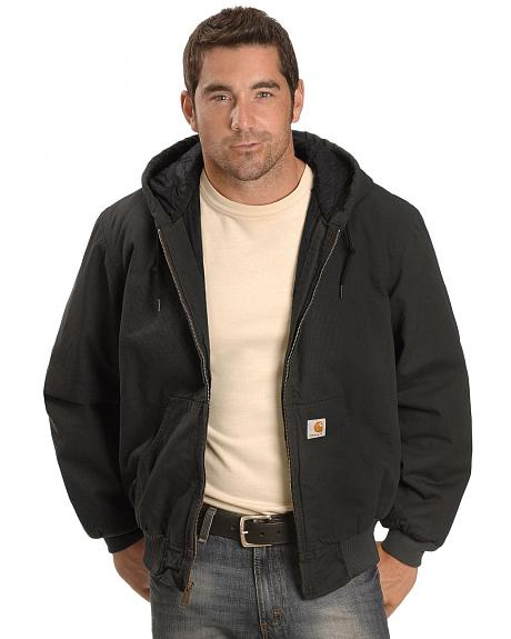 Carhartt Black Ripstop Active Jacket