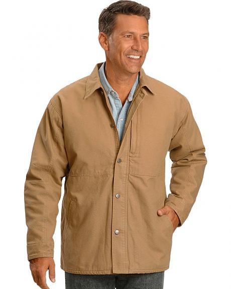 Wrangler Canvas Chore Coat