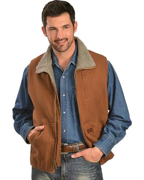 Gibson Trading Co. Faux Sherpa Vest