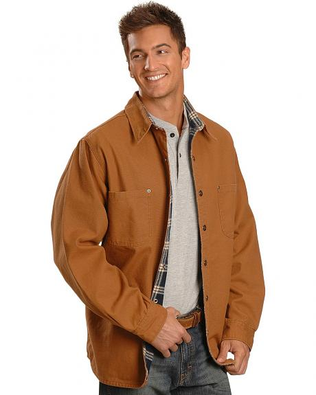 Exclusive Gibson Trading Co. Brown Shirt Jacket