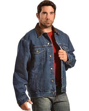 Exclusive Gibson Trading Co. Blanket Lined Denim Jacket