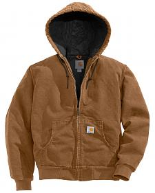 Carhartt Flannel Lined Sandstone Active Jacket