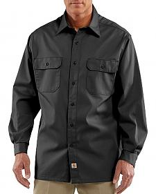 Carhartt Twill Button Work Shirt - Tall
