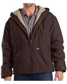 Dickies Hooded Sherpa Lined Work Jacket