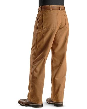 Carhartt Weathered Duck Dungaree Fit Khaki Work Pants