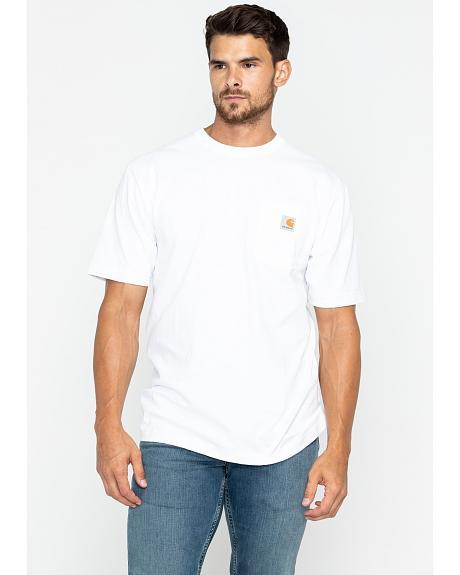 Carhartt Short Sleeve Pocket Work T-Shirt