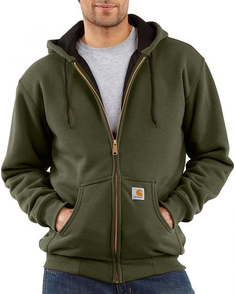 Carhartt Thermal Lined Zip Hooded Sweatshirt