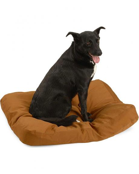 Carhartt Canvas Brown Duck Dog Bed