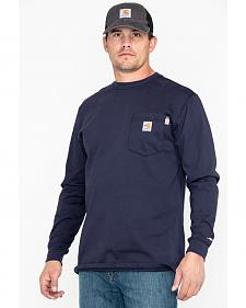 Carhartt Long Sleeve Pocket Fire Resistant Work Shirt