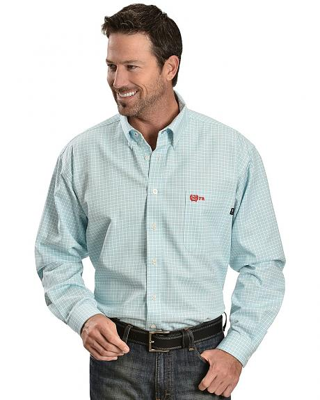 Cinch � Flame Resistant Plaid Work Shirt