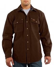 Carhartt Canvas Work Shirt Jacket
