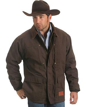 Exclusive Gibson Trading Co. Sherpa Lined Chore Coat