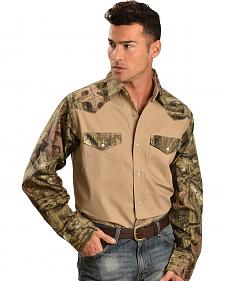 Gibson Trading Co. Camouflage Work Shirt - Big & Tall